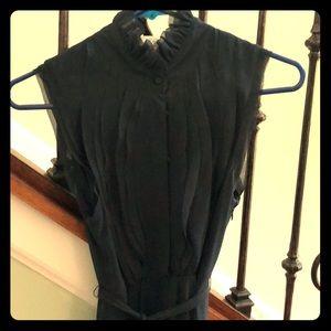 Ann Taylor Loft slate grey dress. Size 2.